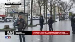 """Prise d'otages porte de Vincennes : """"On déplore au minimum un blessé dans le locaux"""", selon un membre du syndicat alliance"""