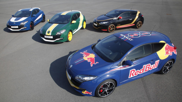 Renault Mégane RS 2012 F1 Williams Caterham Lotus Red Bull