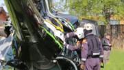 Russie : un hélicoptère s'écrase dans un lac de la région de Leningrad, deux morts