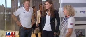 VIDEO : Kate et le prince Harry flicitent leurs athltes olympiques
