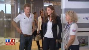 VIDEO : Kate et le prince Harry félicitent leurs athlètes olympiques