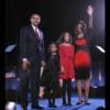 people : Barack Obama, Michelle Obama et leurs filles