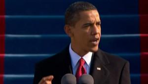 Barack Obama prononce son disours d'investiture