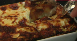 Des lasagnes (illustration)