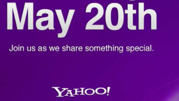 Dtail de l&#039;invitation de Yahoo! pour le 20 mai 2012