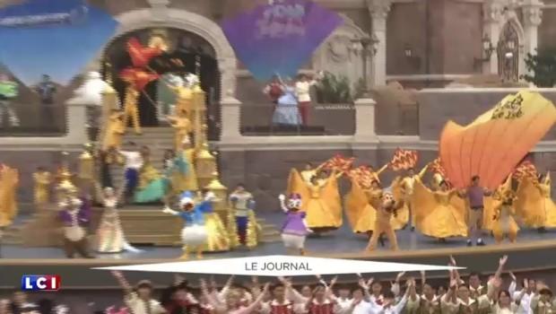 Disney débarque en Chine, un parc ouvre ses portes à Shanghai
