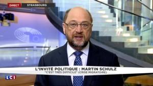 """Migrants : """"Nous créons une crise par la non-participation des États européens"""" estime Martin Schulz"""