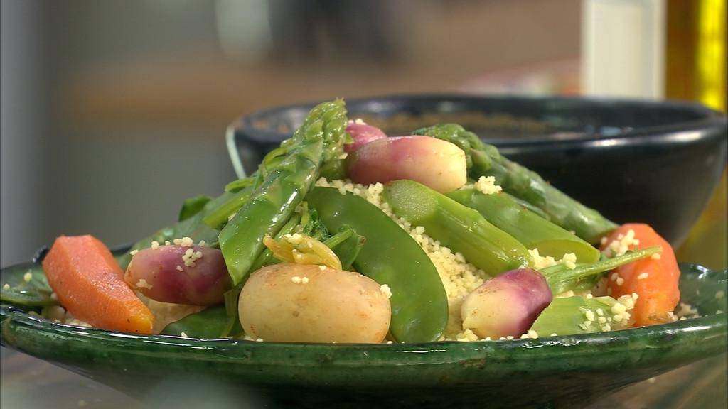 Couscous de l gumes nouveaux petits plats en equilibre - Recette cuisine tf1 petit plat en equilibre ...