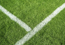 Un terrain de football, image d'illustration