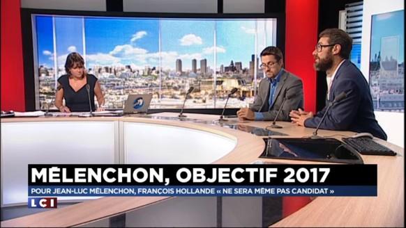 """""""Jean-Luc Mélenchon est en pré-campagne"""" affirme son ancien directeur de la communication"""