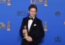 L'acteur britannique Eddie Redmayne lors des 72e Golden Globes en janvier 2015
