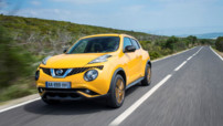 Nissan Juke, version restylée lancé au printemps 2014