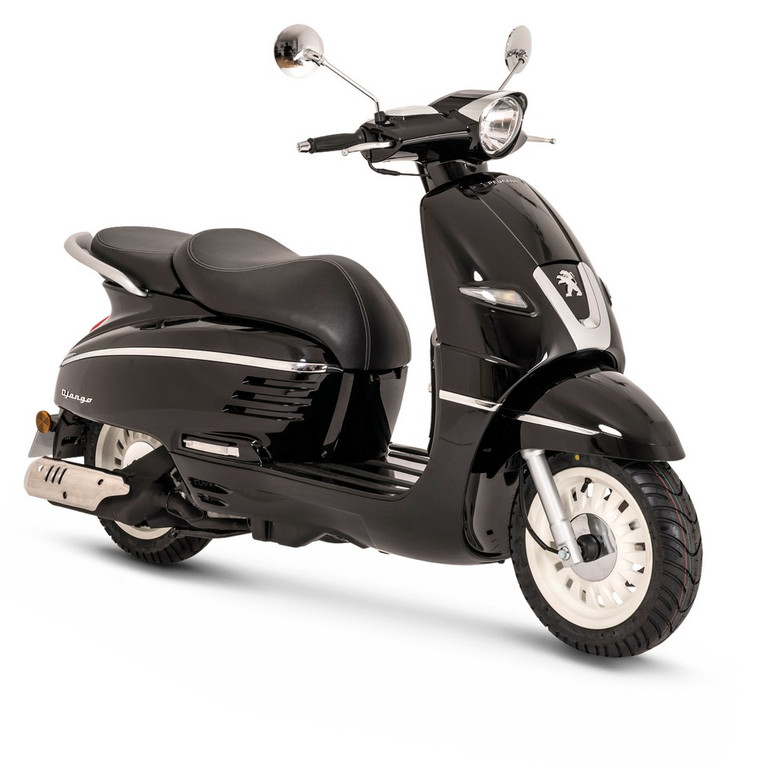 photos automoto le scooter peugeot django 2014 en images mytf1. Black Bedroom Furniture Sets. Home Design Ideas