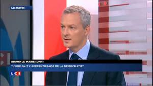 Bruno le Maire sur LCI UMP