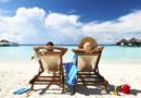 Couple Plage Vacances