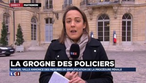 Grogne des policiers : ce qu'il faut retenir de la réponse de Manuel Valls