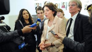 Marisol Touraine, ministre de la Santé, à l'hôpital de Saint-Denis (17 mai 2012)