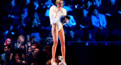 Miley Cyrus aux MTV European Music Awards