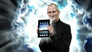 Steve Jobs présente l'iPad (Montage)