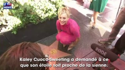 Kaley Cuoco-Sweeting : l'actrice qui valait un million par épisode a son étoile à Hollywood