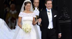 La princesse Madeleine a épousé samedi à Stockholm le financier new-yorkais Chris O'Neill en présence de 500 invités.
