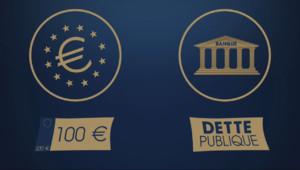 Le 20 heures du 22 janvier 2015 : Une minute pour comprendre : les rachats de dettes par la BCE - 440.581