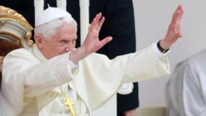 Le pape Benoît XVI en mai 2010