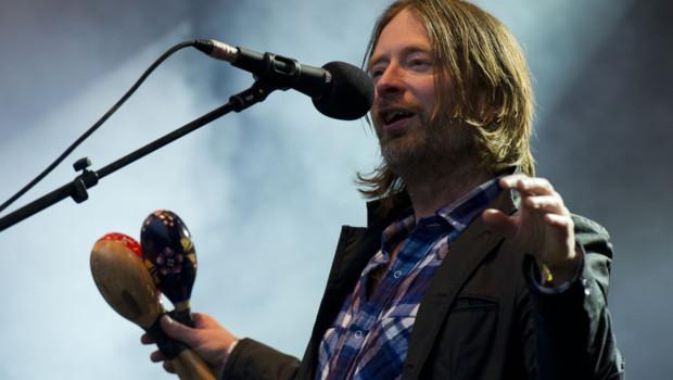 Thom Yorke, le leader de Radiohead en 2011
