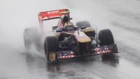 Vergne F1 Corée 2011 essais Toro Rosso