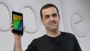 Hugo Barra, le vice-président de Google, présente la tablette Nexus 7.2