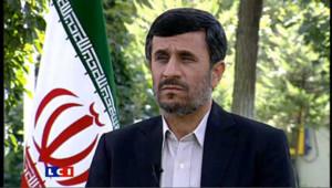 Mahmoud Ahmadinejad (illustration).