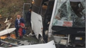 accident bus Antalya