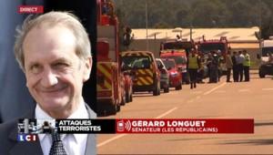 """Attentat en Isère : """"Il faut prendre le temps de clarifier la situation"""", alerte Longuet"""