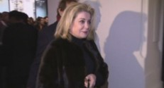 Catherine Deneuve Fashion Week