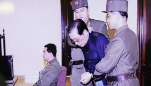 Jang Song Thaek pendant son procès (image diffusée par la télévision nord-coréenne le 13/12/13 après son exécution)