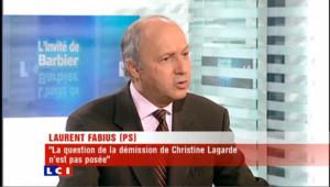 LCI - Laurent Fabius est l'invité politique de Christophe Barbier