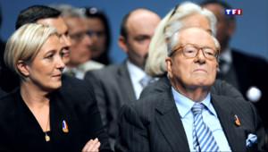 Le 20 heures du 5 mai 2015 : Crise au FN : suspendu du parti, Jean-Marie Le Pen riposte - 370.757