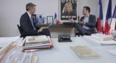 Bureau Politique : Marine LE PEN, une icône pour Florian Philippot
