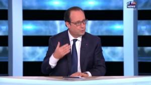 """Hollande sur MYTF1News : être Président, """"ça me coûte sur le plan personnel"""""""