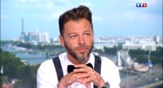 """Le 20 heures du 10 août 2014 : Christophe Ma� """"Si je fais de la musique, c%u2019est pour �e sur sc�"""" - 2330.7106616210935"""