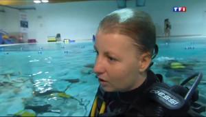 Le 20 heures du 10 janvier 2014 : La plong�sous-marine au f�nin - 2.048