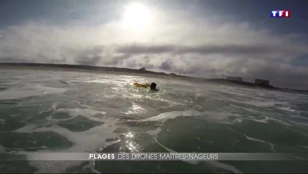 Sécurité des plages : un drone anti-noyade à l'essai à Biscarosse