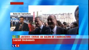 Un Chirac moins fringant qu'avant