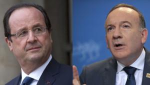 François Hollande et Pierre Gattaz