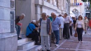 Le 20 heures du 20 juillet 2015 : Grèce : malgré la réouverture des banques, les Grecs tremblent - 619