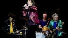 Les Rolling Stones sur scène à Orlando en juin 2015