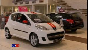 Nette baisse des immatriculations de voitures en France en novembre