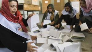 dépouillement élection Afghanistan vote
