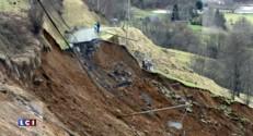 Hautes-Pyrénées : un hameau coupé du monde par une coulée de boue