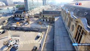 Le 20 heures du 10 janvier 2014 : La m�morphose du quartier de la Gare d%u2019Austerlitz �aris - 1999.506